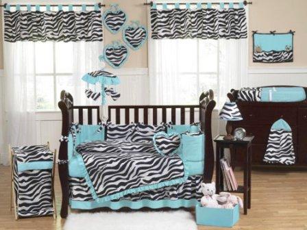 baby-girl-zebra-print-crib-bedding-set