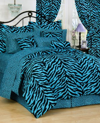 blue-zebra-bedding