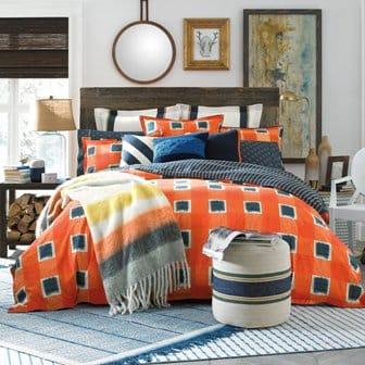 orange-comforter-set