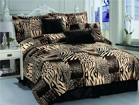 print ip bed walmart bedding set micro com animal piece fashion st suede