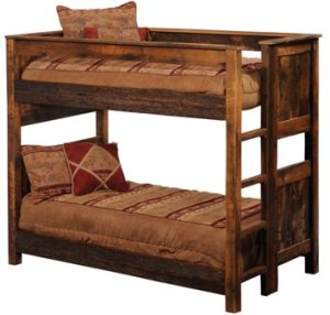 How To Build Bunk Bed From Reclaimed Wood