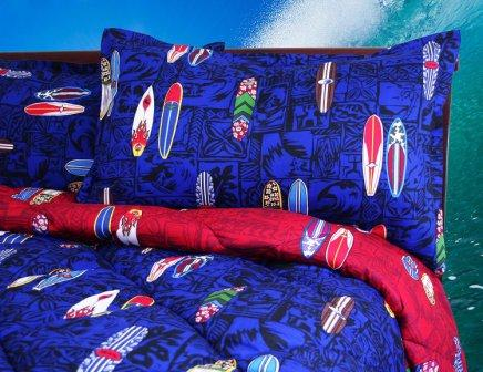 Surfboard Comforter Set