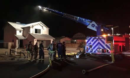 Fire Damages Home On Brill Drive