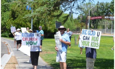 "Activists Rally In Kingman For Nationwide ""Families Belong Together"""