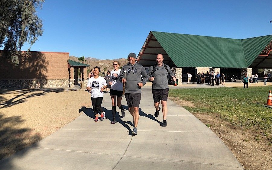 Law enforcement officers across the state are lighting the way for  Special Olympics AZ