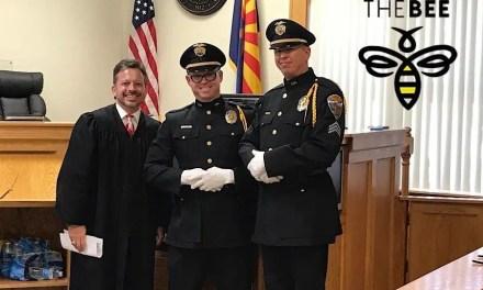 Kingman Police Department Honor Guard Honored