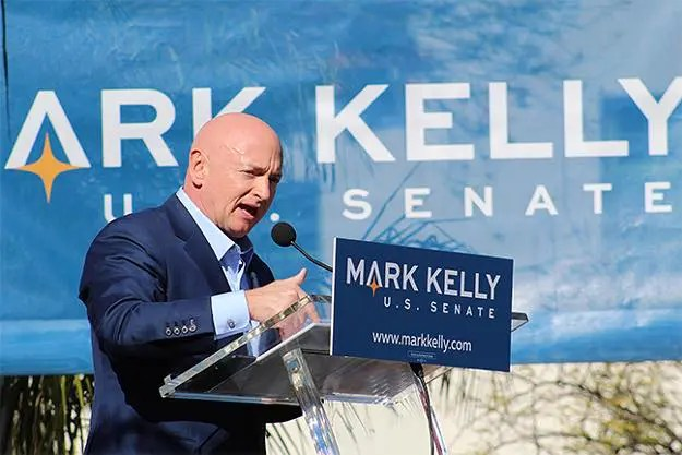 An evening with U.S. Senate Candidate, Mark Kelly