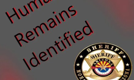 UPDATE: HUMAN REMAINS IDENTIFIED- LAKE HAVASU CITY