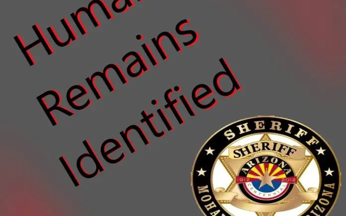 Human Remains Identified after nearly 1 year