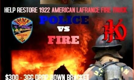 Kingman Fire Dept hosts Co-Ed Softball Tourney