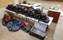 TRAFFIC STOP LEADS TO 362 LB. METH SEIZURE, LARGEST IN AZDPS HISTORY