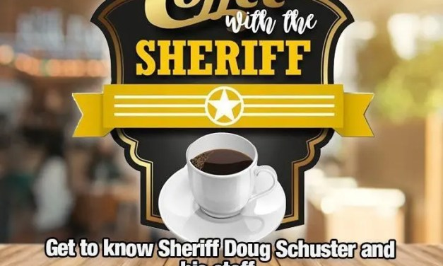 Coffee with the Sheriff