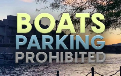 No Mooring of Boats in Bridgewater Channel and at City Parks