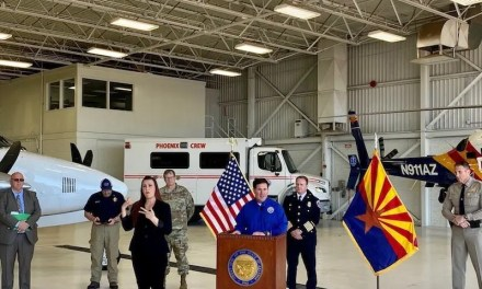 Governor Ducey, Fire And Safety Officials Provide Outlook Ahead Of Wildfire Season
