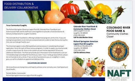 NEW – Food Distribution & Delivery Collaborative for Laughlin residents!