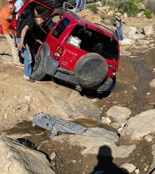 STRANDED MOTORISTS: MOSS WASH, HUALAPAI MOUNTAINS