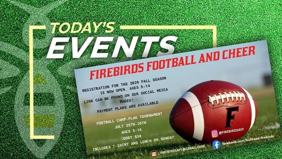 Firebirds Football & Cheer Registration