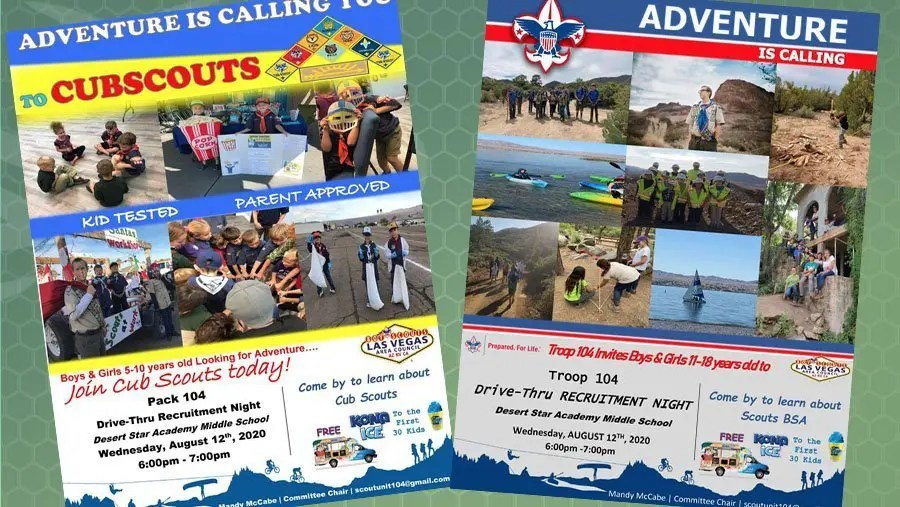 ADVENTURE IS CALLING YOU to CUBSCOUTS