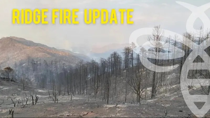 Ridge Fire Containment Now at 52%