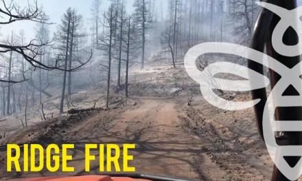 Ridge Fire Nearing Containment