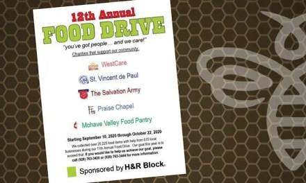 H&R Block 12thAnnual Food Drive