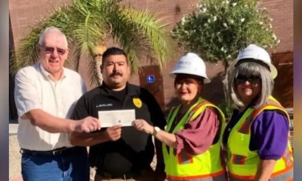 Golden Vertex Corp Donates to Shop with a Cop