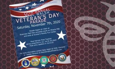 12th Annual Paul Walsh Veteran's Day Parade