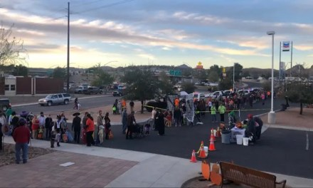Mohave County Sherriff's POP Annual Candy Crawl a HUGE Success