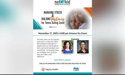Managing Stress & Building Resiliency parent webinar
