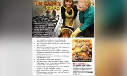 Serving up fire safety in the kitchen this Thanksgiving!