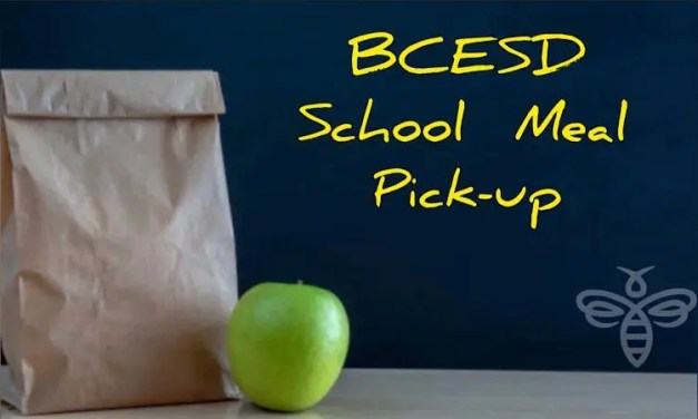 BCESD SCHOOL MEAL PICK-UPS AVAILABLE TUESDAY