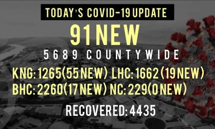 91 New COVID-19 Cases with the most New Deaths since July 22nd