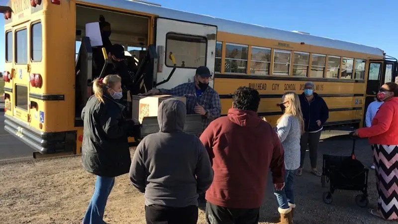BCSD DELIVERS OVER 23,000 MEALS IN 90 MINUTES FOR WINTER BREAK