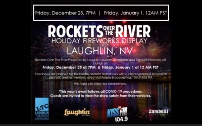 Rockets Over The River – December 25th at 7pm PST & Jan 1st 1am