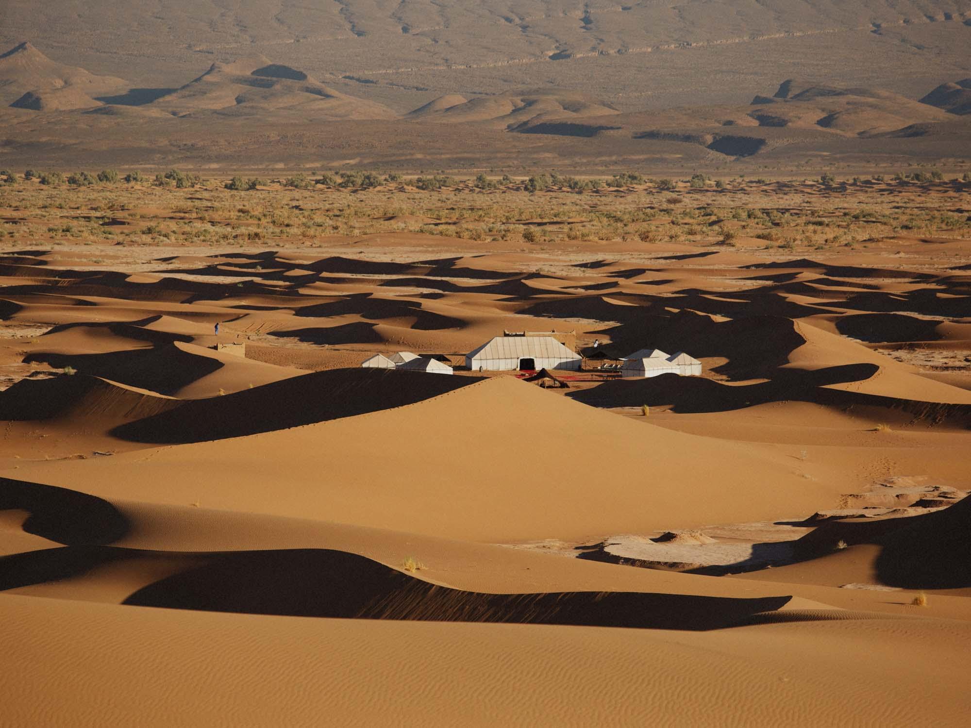 Nubia luxury camp Morocco