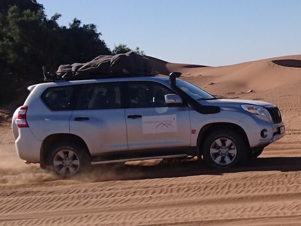 4x4 Vehicle on Tour through Moroccan Sahara to Essaouira City