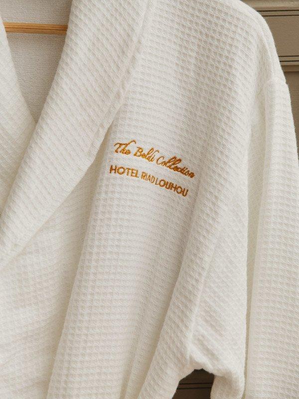Morocco Hotel Riad LouHou Branded BathRobe