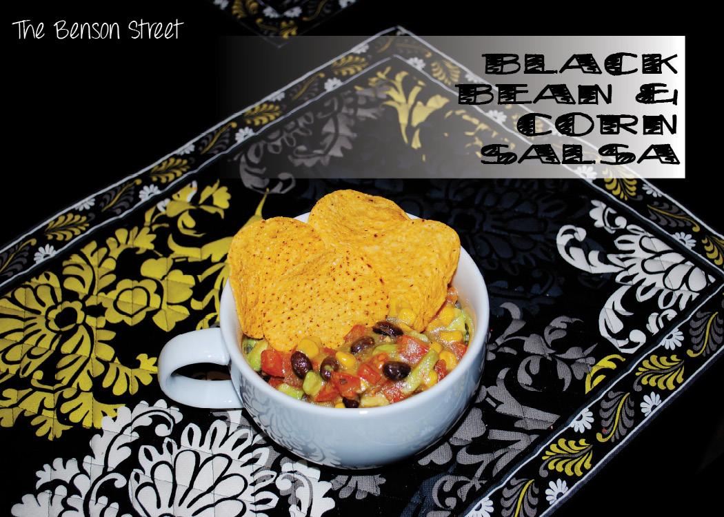 Black Bean & Corn Salsa Cover