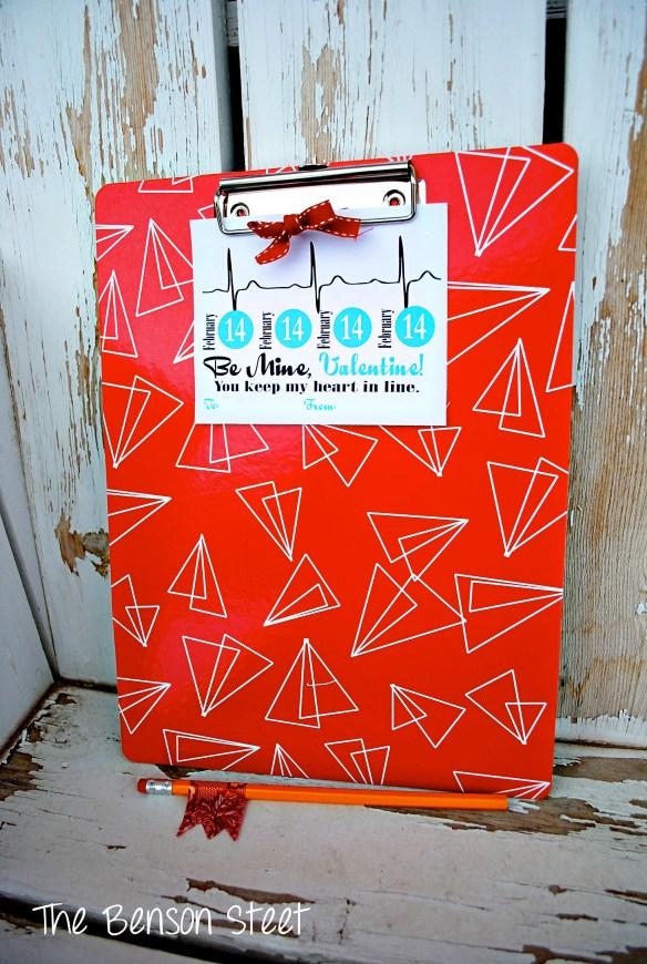 Clipboard Valentine at The Benson Street2