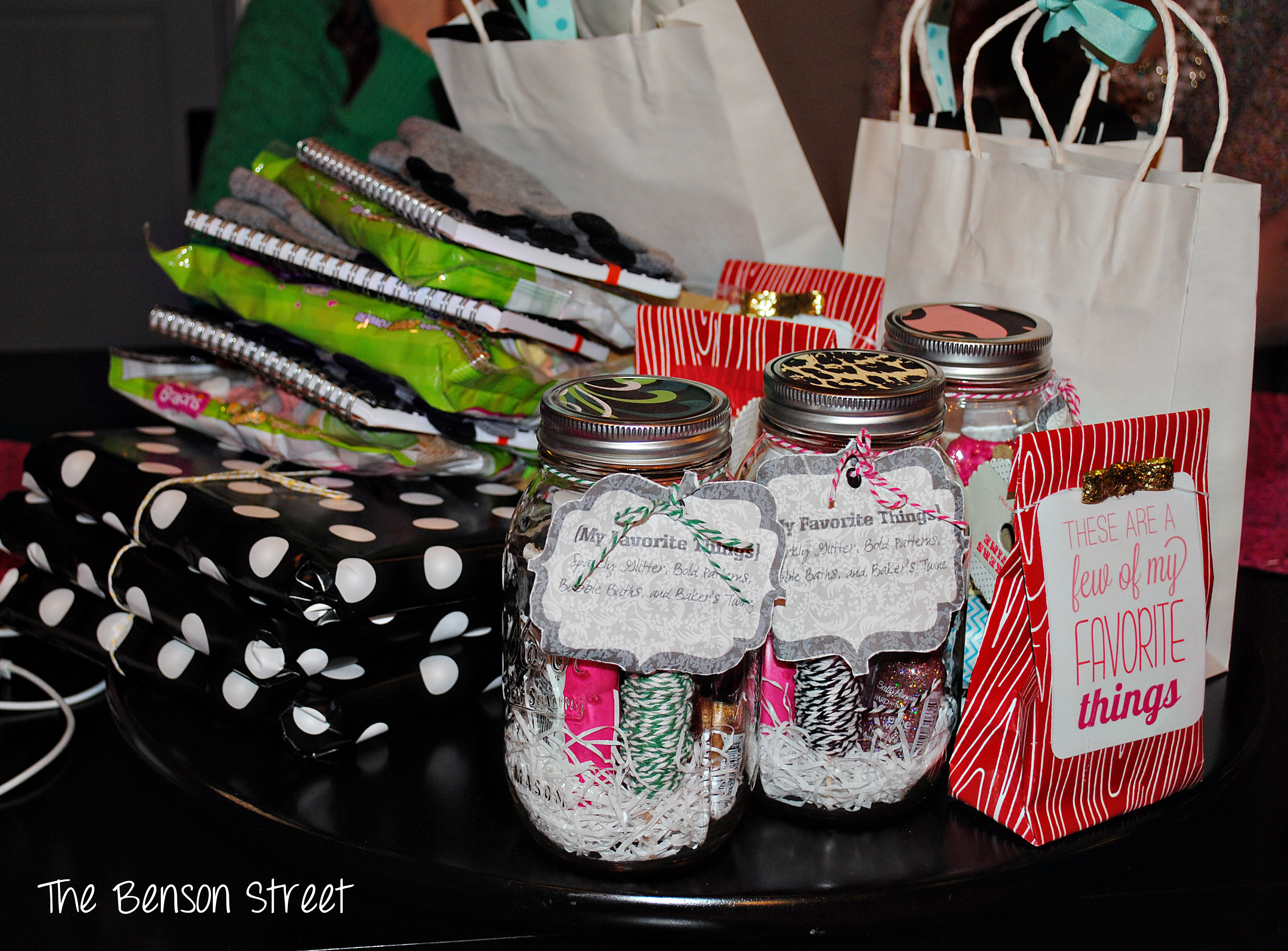 {Favorite Things Party} The Benson Street