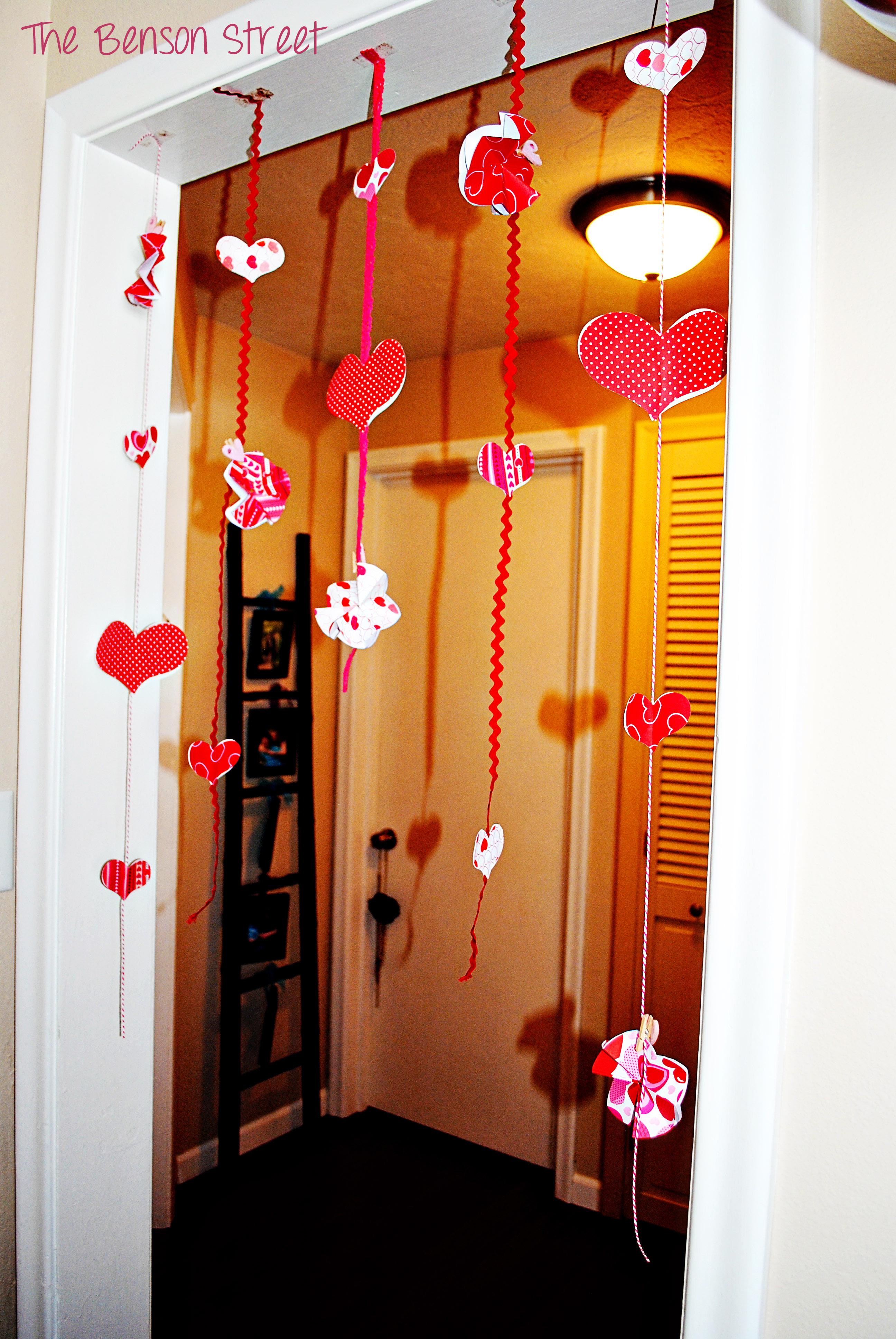 Hanging Valentine Garland 4