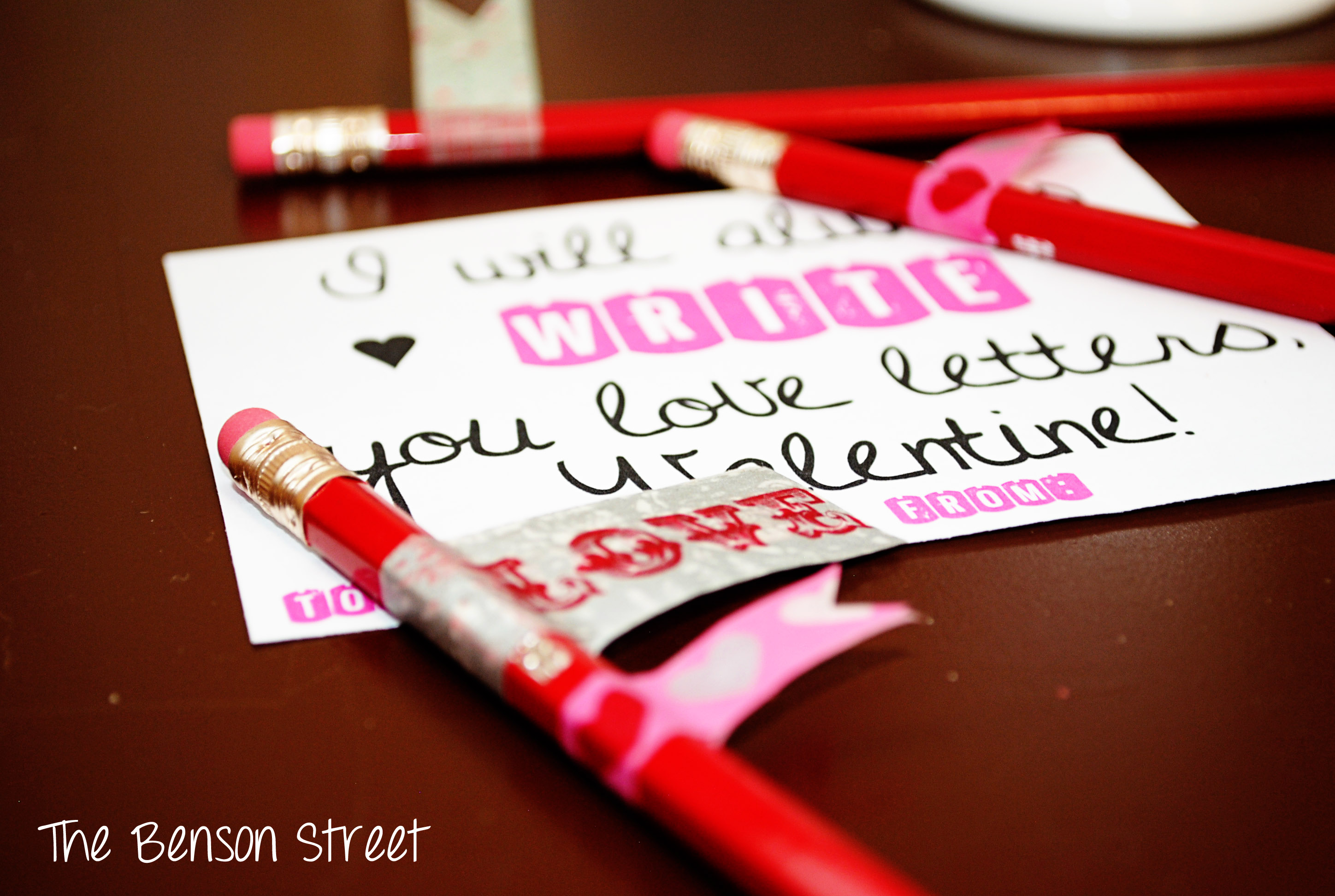 Love Letters Valentine at The Benson Street4