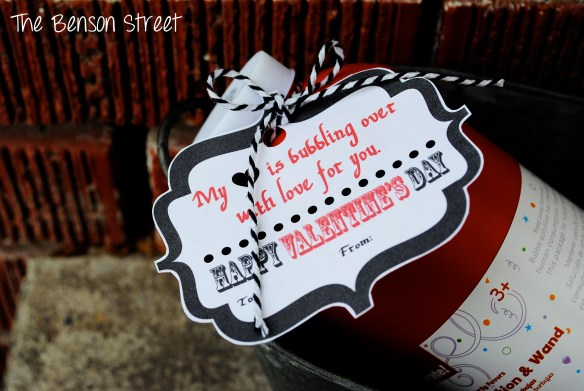 Bubbles Printable Valentine at The Benson Street3