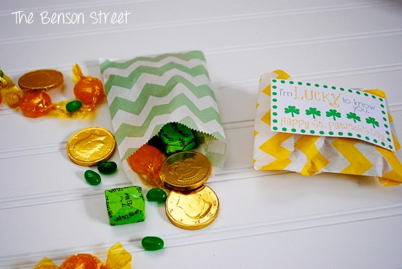 3Lucky Treat Bags at www.thebensonstreet.com