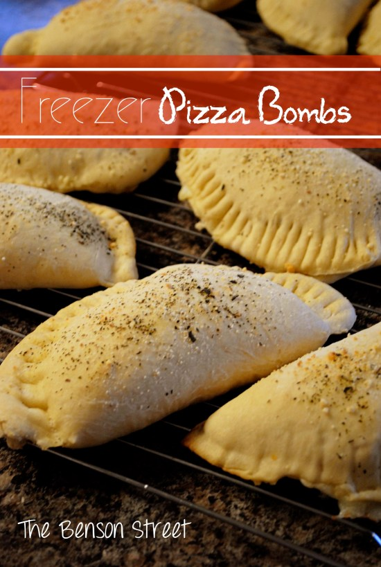 Freezer Pizza Bombs at www.thebensonstreet.com 3