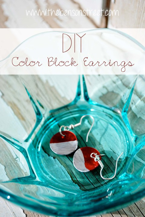 Color Block Earrings at www.thebensonstreet.com 8