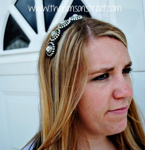 Downton Abbey Inspired Headband at www.thebensonstreet.com 11