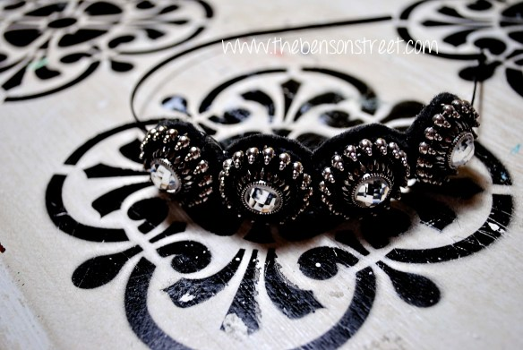 Downton Abbey Inspired Headband at www.thebensonstreet.com 6