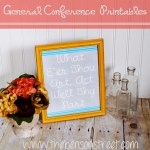 General Conference Printables
