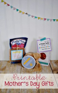 Printable Mother's Day Gift Ideas at www.thebensonstreet.com